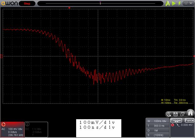 ラジコン修理送信機受信機ミスマッチ2波形4