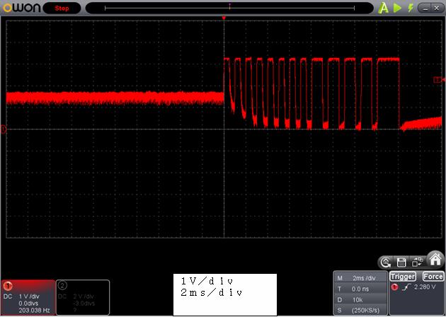 ラジコン修理送信機受信機ミスマッチ2波形6
