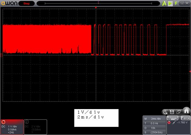 ラジコン修理送信機受信機ミスマッチ2波形7