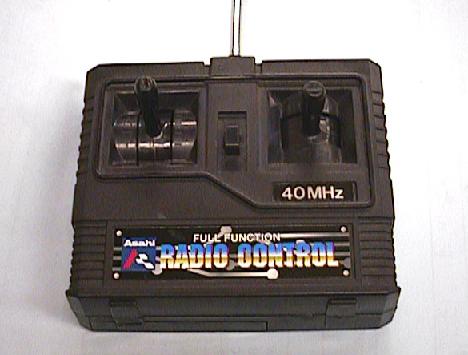 ラジコン送信機の修理(基板割れ)外観