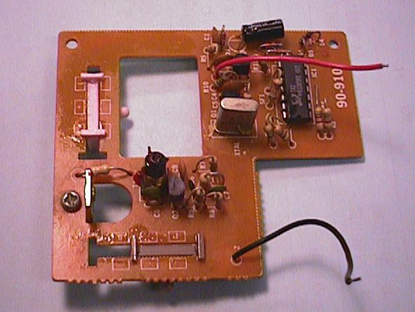 ラジコン送信機の修理(基板割れ)診察1
