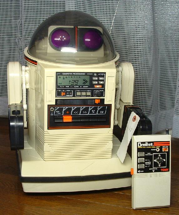 TOMYオムニボットの修理(マイコン換装)外観1