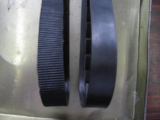 にぎやかドライブの修理(ベルト交換)治療