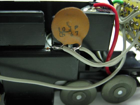 100均プラレールの赤外線リモコン化の制作パスコン