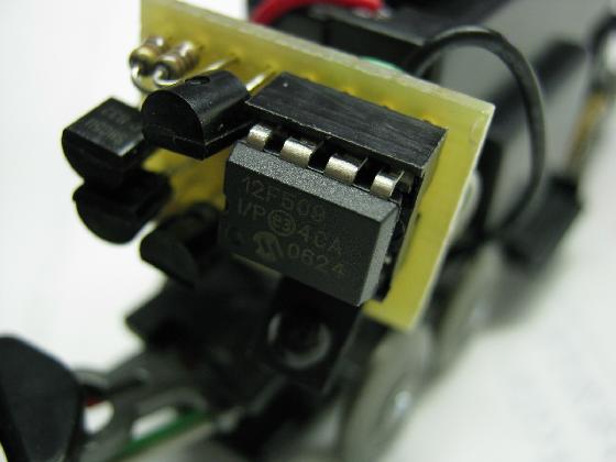 100均プラレールの赤外線リモコン化の制作チップ