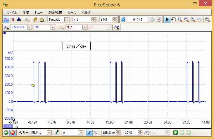 デジタルプロポ信号波形1