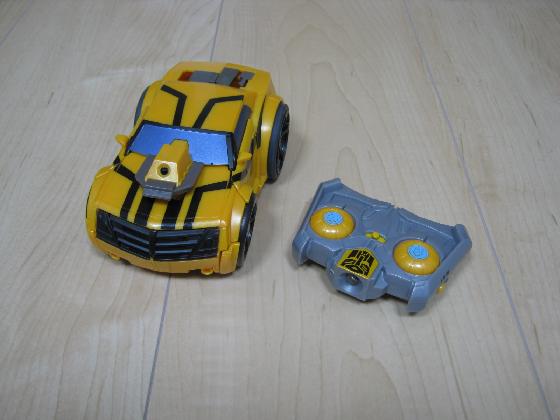 Irリモコンロボットカー(配線コード断線、バネ欠落)外観1