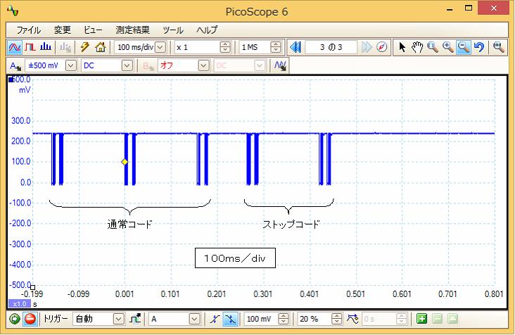 Irリモコンロボットカー(配線コード断線、バネ欠落)プロトコル14