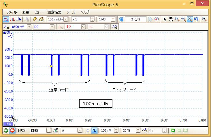 Irリモコンロボットカー(配線コード断線、バネ欠落)プロトコル18