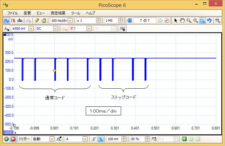 Irリモコンロボットカー(配線コード断線、バネ欠落)プロトコル19