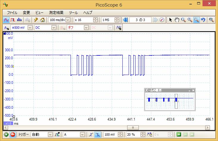 Irリモコンロボットカー(配線コード断線、バネ欠落)プロトコル17