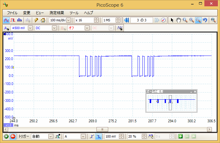 Irリモコンロボットカー(配線コード断線、バネ欠落)プロトコル16