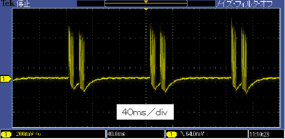 Toy赤外線リモコンの信号フォーマットCCPnano波形2