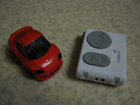 Toy赤外線リモコンの信号フォーマットQ-STEER外観