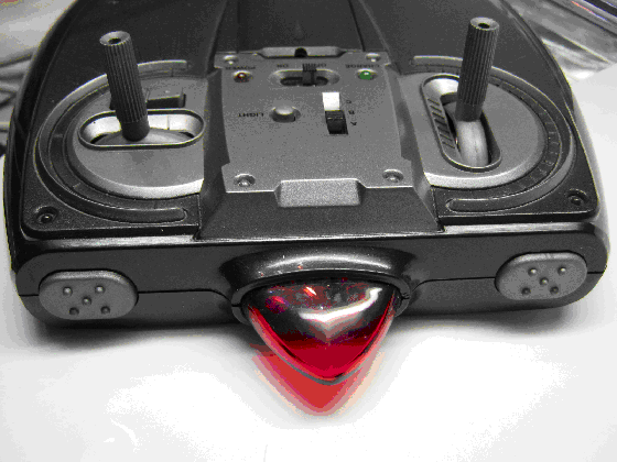 Toy赤外線リモコンの信号フォーマットSilverlit外観