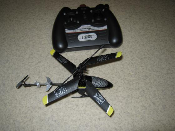 Toy赤外線リモコンの信号フォーマットProtocol社IRCヘリ外観