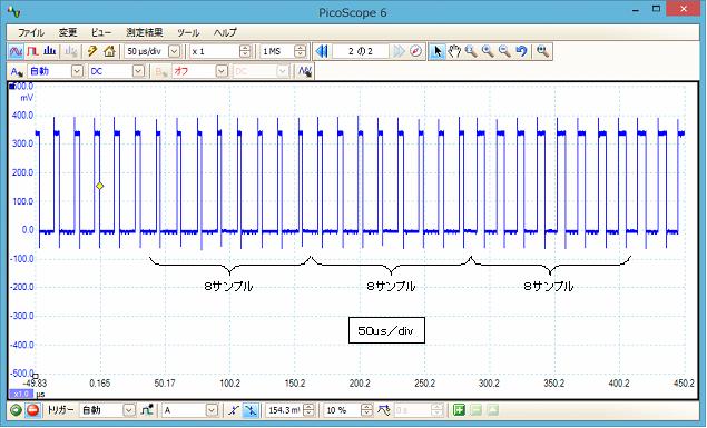 LPCで音声再生波形1