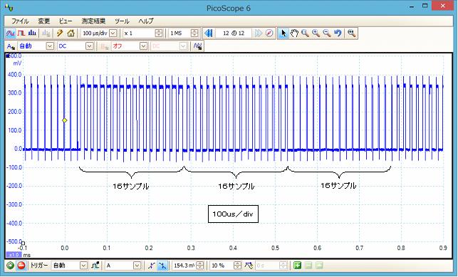 LPCで音声再生波形3