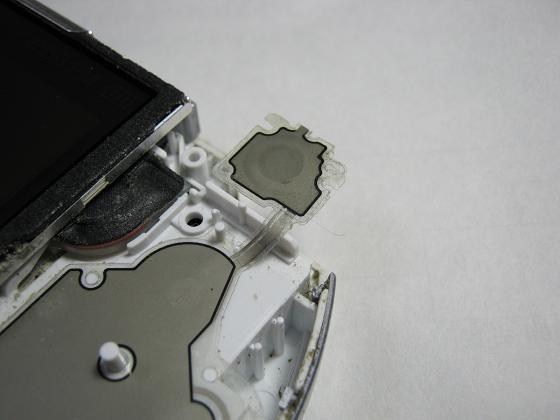 PSP-3000の修理(フレキケーブル断線)診察