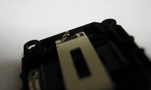 PSP-3000の修理(アナログスティック接触不良)診察3