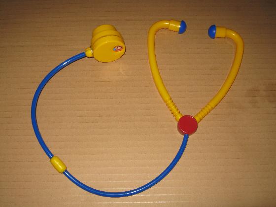 絵が廻る聴診器ベネッセの修理(ギヤ摩耗)外観1
