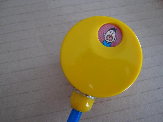 絵が廻る聴診器ベネッセの修理(ギヤ摩耗)外観2