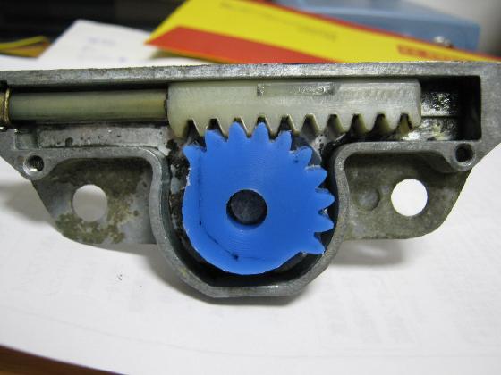 車のワイパーギヤ破損の修理治療15