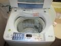 中川区 日立製縦型洗濯機操作不良修理