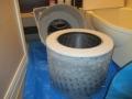 ドラム式洗濯機ドラム清掃前