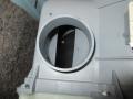 中川区 東芝製ドラム式洗濯機ダクト後