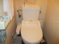 東芝製シャワートイレ水漏れ修理