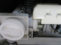 東芝ドラム式洗濯機水漏れ箇所
