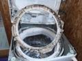 縦型洗濯機分解清掃前
