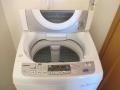 中川区 東芝製洗濯機試運転