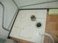 津島市 洗濯機内部清掃防水パン前