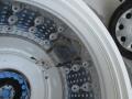 津島市 洗濯機内部清掃ドラム前