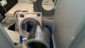清須市 パナソニック製ドラム式洗濯機分解部品後