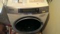 清須市 パナソニック製ドラム式洗濯機分解清掃