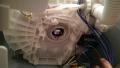 中川区 東芝製洗濯機軸外し