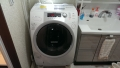 安城市 東芝製ドラム式洗濯機分解清掃
