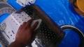 中川区 東芝製ドラム式洗濯機分解清掃ドラム洗浄