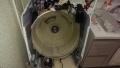 名古屋 東芝製ドラム式洗濯機分解清掃内槽前