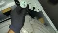 中川区 パナソニック製洗濯機吊り棒取外