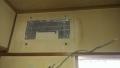 中川区 シャープ製エアコンクリーニング