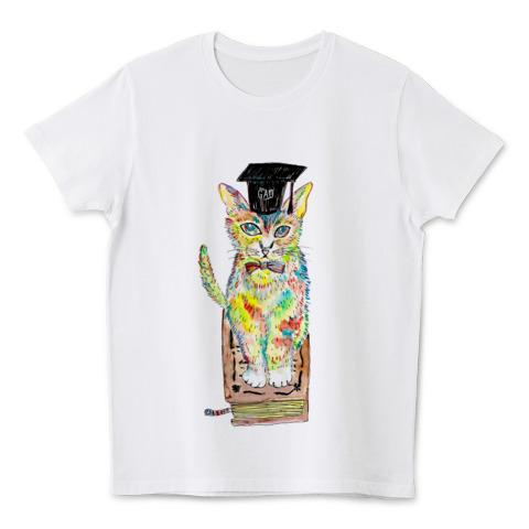 猫Tシャツ ブックキャット