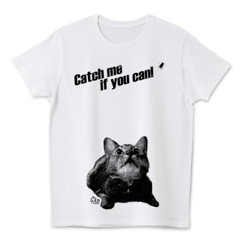 Nobigaoキャッチミー猫Tシャツ