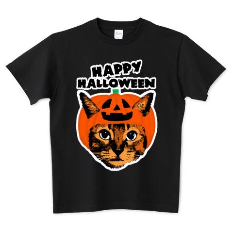 猫Tシャツ Nobigao パンプキンキャット