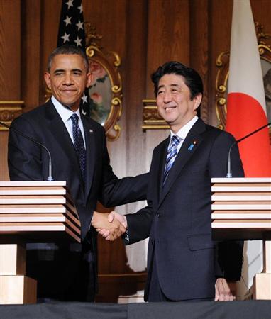 日米共同記者会見