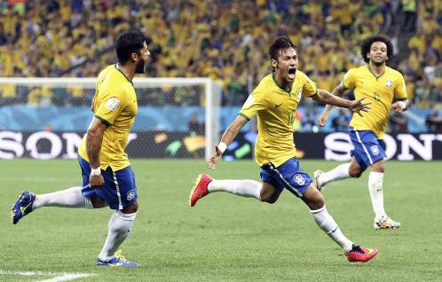 ブラジルVSクロアチア 同点ゴール