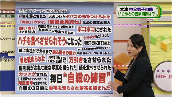 TBS 20120709 大津市いじめ事件